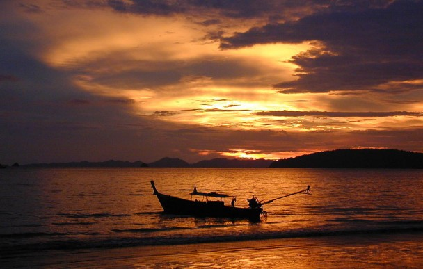 Tramonto in Tailandia - clima tropicale monsonico