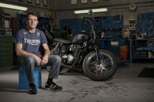 L'officina racconta il mondo di Damiano, preparatore Triumph Motorcycles